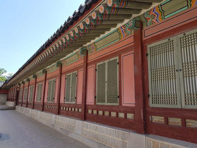Gyeongbokgung Palace, Seoul Joseon Dynasty 5 Centuries 1392 Palace Architecture Koreanroyalty Seoularchitecture Tripwithson2017 Seoulmay2017 Seoul South Korea