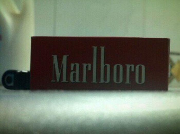 Marlboro no one could cheat ur taste