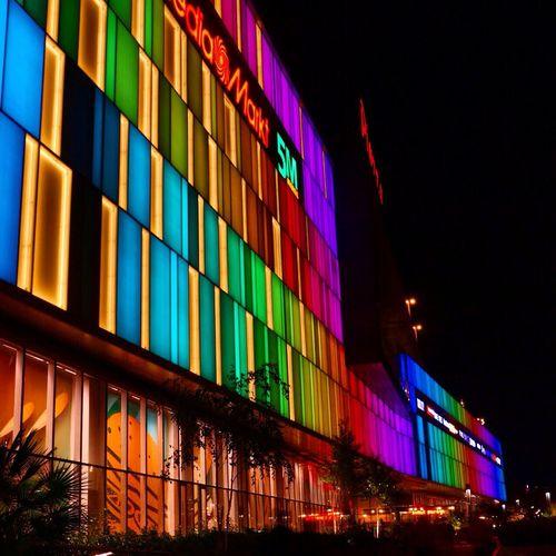 Colors Night Light Taking Photos