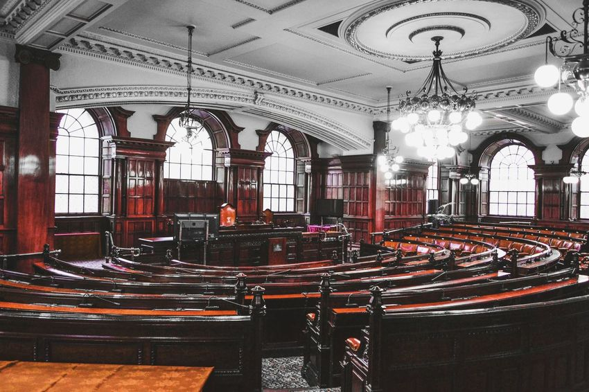 Taking Photos Townhall Council Chambre Liverpool Liverpool, England