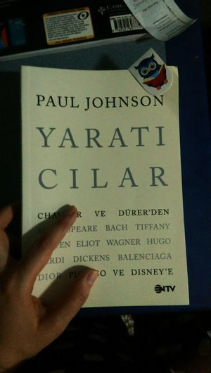 Pauljohnson Yaraticilik Chaucer Picasso Disney Balenciaga Dickens Hugo Verdi BACH