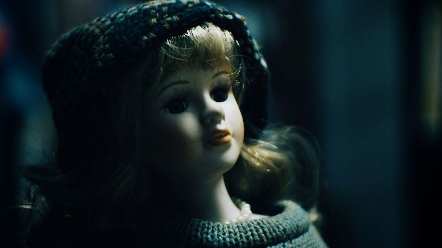 Close-Up Of Doll