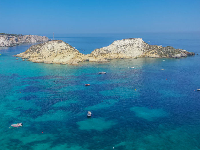 The beautyful isole tremiti