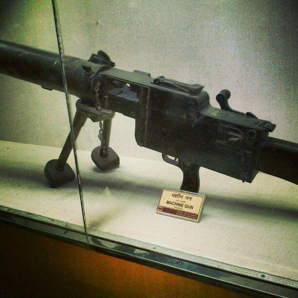 Indian Gun Instagram Maniac Museum Machinegun Shooting Powerinhands Addiction HumanPower Delhi Impressive India
