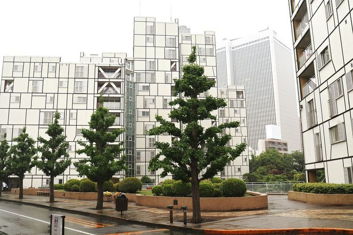 U.S. Embassy Housing Compound Tokyo. Architecture Built Structure Building Exterior Apartment American Embassy Roppongi Tokyo Architecture