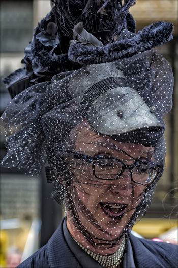 Easter Parade NYC 2017 Easter Easter Bonnet Easter Parade NYC 2017 Hats Portrait
