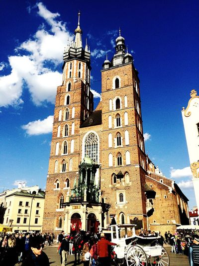 Cathedral Square Cracow Poland Oldtown