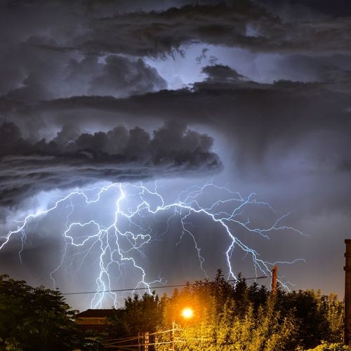 Tormenta Relampago RAYOS Buenosaires Llavallol Argentinaq Thunderstorm Lightning Dramatic Sky Night Storm Cloud Storm Outdoors No People Power In Nature Nature Illuminated Long Exposure Scenics Sky Beauty In Nature Forked Lightning Break The Mold