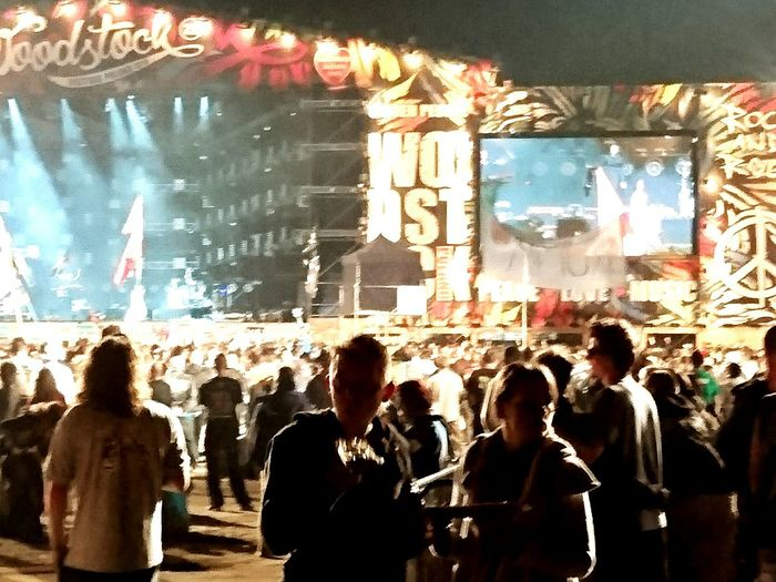 Woodstock 2016 Large Group Of People Popular Music Concert Light And Shadow