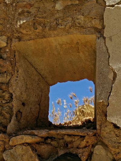 Ruins Belchite Window