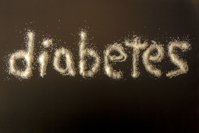 Diet Sugar Black Black Background Blood Close-up Coma Copy Space Diabetes Disease Glucose Health Healthy Eating Message No People Sickness Single Word Text White Writing