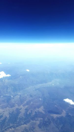 From the plane