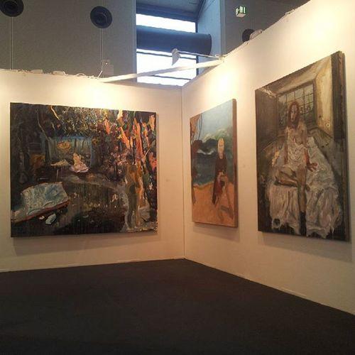 Artkarlsruhe2016 Geradwaskievitz Michaelahelfrich Michaelahelfrichgalerie Painting Contemporaryberlin