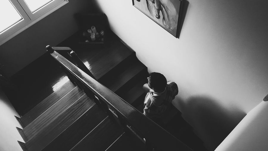 Alone.. Indoors  Adults Only Real People One Person EyeEm Best Shots Welcome To Black Long Goodbye Canon 5d Mark Iv Fine Art Photography The Secret Spaces Silhouette Old-fashioned Eyeemphotography The Architect - 2017 EyeEm Awards Modern Hospitality