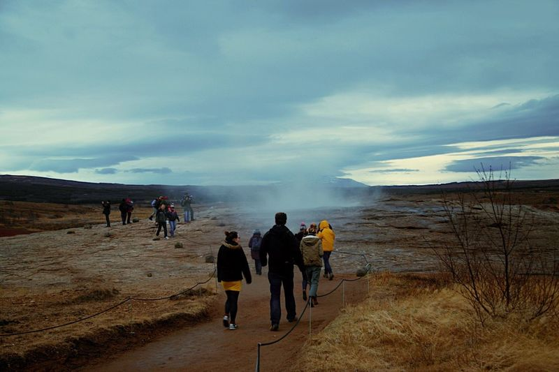 The EyeEm Facebook Cover Challenge Micky In Iceland Strokkur Geysir The Traveler - 2015 EyeEm Awards