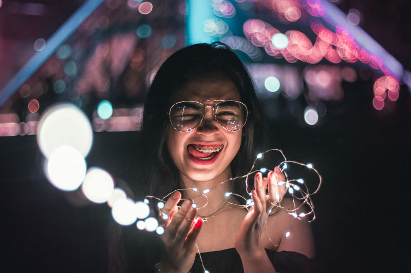 Fairylights EyeEm Selects Popular Music Concert Young Women Portrait Musician Singing Nightlife Performance Singer  Shouting Arts Culture And Entertainment