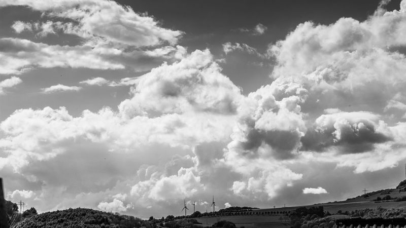 Afternoon Sky Beauty In Nature Blackandwhite Blackandwhite Photography Cloud - Sky Clouds Clouds & Sky Cloudscape Day EyeEm Black&white! EyeEm Gallery Landscape Light And Shadow Nature Nature No People Outdoors Rain Scenics Sky Skyscape