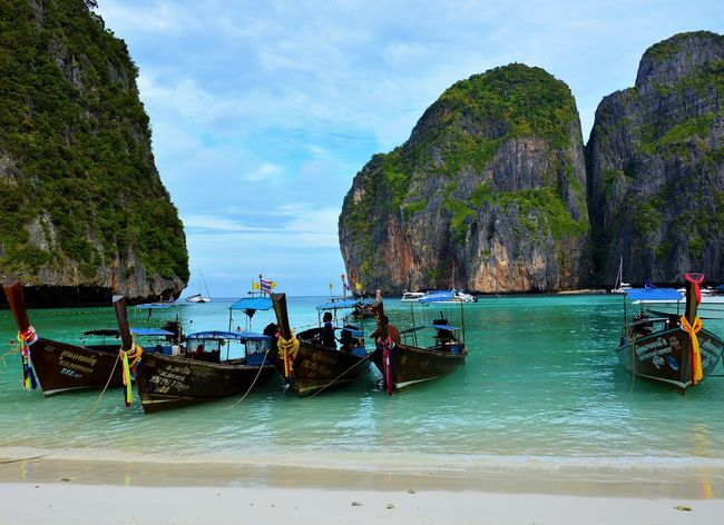 Travel Travel Destinations Sea Vacations Tourism Water Nature Sky Thai Thailand Thailand_allshots Thailandtravel Thailand Photos Thailand_allshots_nature Phuket Phuket,Thailand Phiphiisland PhiPhiIslands Sea And Sky Sea View Sea_collection The Great Outdoors - 2017 EyeEm Awards Been There.