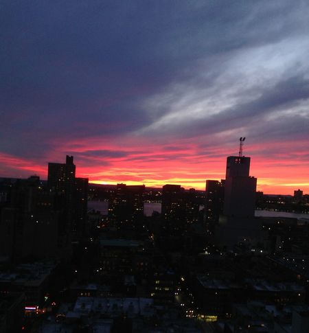 Hudson Sunset Best Sunset  Enjoying The View