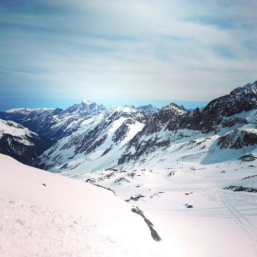 Nieve2 Snow Mountain Blue And White Österreich Austrian Alps Feel The Journey