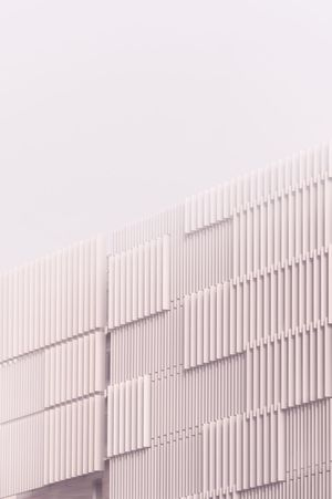 Pastel Soft Tones Creamy Stripes Building Urban Wall Façade Architecture Building Exterior Built Structure No People Pattern Copy Space Building Low Angle View Sky Day Wall - Building Feature White Color Modern City