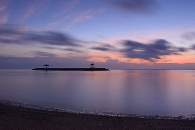 Bali Blue Hour EyeEmNewHere INDONESIA Landscape_Collection Long Exposure Shot Morning Sunrise_Collection Waterscape Beach Beauty In Nature Cloud - Sky Indonesia_photography Landscape Landscape_photography Long Exposure Nature Sea Sky Slow Shutter Slow Shutter Speed Sunrise Sunrise_sunsets_aroundworld Water