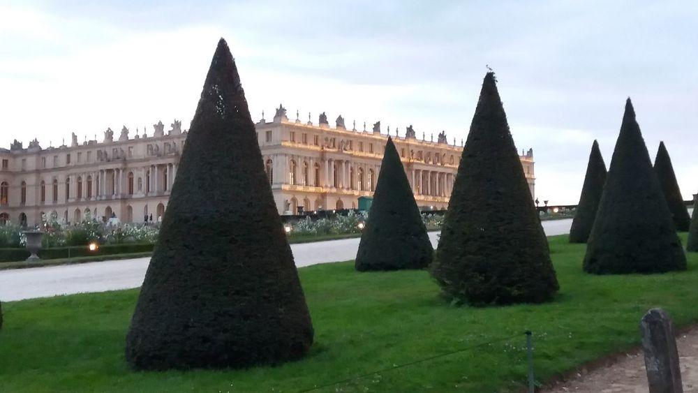 Versailles Castle France Architecture Nature Bad Quality