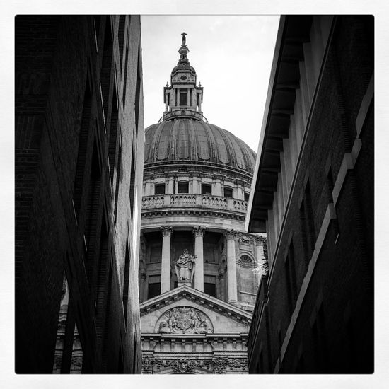 St Pauls St Paul's Cathedral Architecture Built Structure Building Exterior Transfer Print Auto Post Production Filter Building Place Of Worship Dome Travel Destinations Tourism Travel The Past History