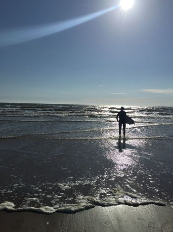 Surf Surfer Surfing Enjoying The Sun Wales Beach Surfer Girl Glitch Share Your Adventure IPSWebsite Lost In The Landscape