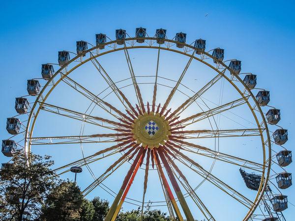 Amusement Parks Amusement Ride Amusementpark Ferris Wheel Ferriswheel Germany Munich München Olympiapark Park Park - Man Made Space