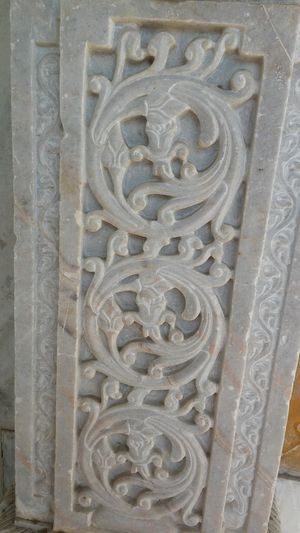 No People Full Frame Close-up Day Outdoors Model White Marble Marble Design Marble Art Small Beautiful Design Ancient History White Marble Pillar Pillar Pattern Place Of Worship History Built Structure Architecture Ancient Indoors