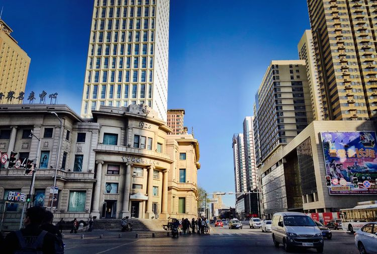 Building Exterior Architecture Built Structure City Sky Building Street Day Car City Life Travel Clear Sky Blue Sunlight