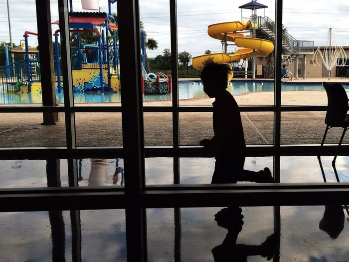 I'm looking forward to summer. Here is a shot of a kid's silhouette playing in front of the window at the YMCA. #swimming #summercamp #VBS and lots of #music. If you have any questions about fostering, please ask. For June, I'd like to caption about #music. IPPSilhouette