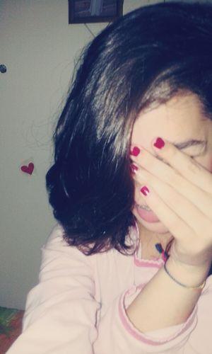"""""""Ti svelo un segreto : i matti sono i migliori. """" ♥ Photo Saturday Stanca Linguaccia Smalto Rosso Pigiamasexy Pigiama Rosa EyeEm"""