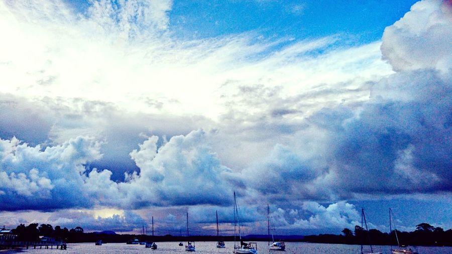 Sommergefühle Sailboats Cloudstagram