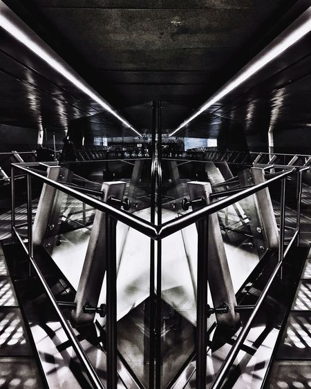 :FUTURISTIC: Architecture Modern No People IPhoneography Taking Photos Iphonephotography Architecturephotography UrbanART Bridge - Man Made Structure Architectural Feature Architecturelovers Iphonegraphy Subway Station Subwayphotography ExploreSingapore Changi Airport Changi Mrt Station