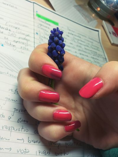 Boredom Strikes >.< Relaxing Flower Pinknails Nails Fashion