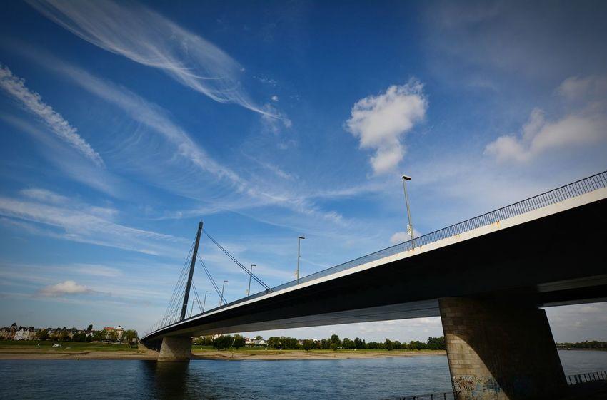 City Water Bridge - Man Made Structure River Sky Architecture Built Structure Cloud - Sky