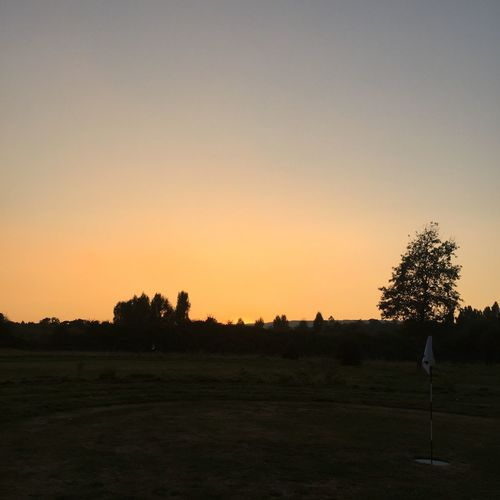 Other day, foot golf course... Sun down Footgolf Sunset Kent