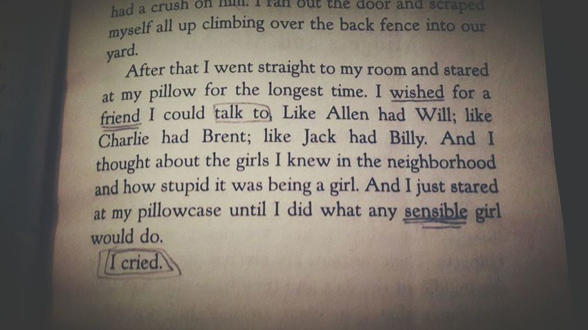 How I Survive Being A Girl Book Story