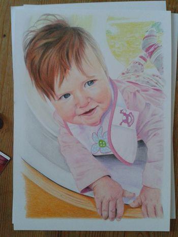 Amazing Art Drawing Art Portrait colour pencil portrait commission