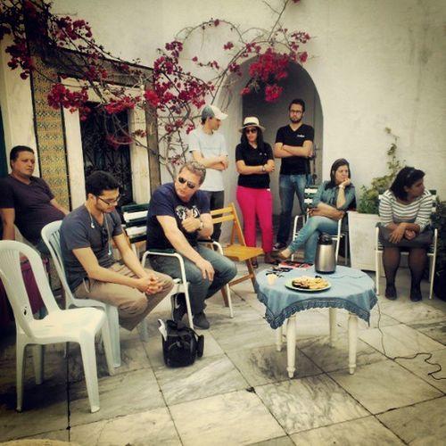 Recontre avec Abdelaziz Belkhodja a Beit Al Bennani. Carthagina A7kili