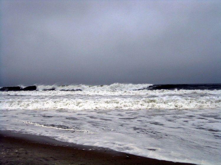 Hurrcan Irene Hurricane Long Beach Ocean Long Island Long Island Beach In A Hurricane Ocean View Stormy Weather On The Ocean