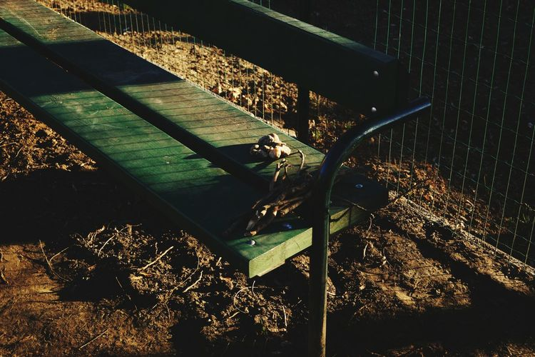 Tresures Tresures From The Park Sunlight Outdoors Nature No People Day Sunset Sky People Long Shadow - Shadow Sunshine ☀ Playground Playground For Kids Playground Equipment Bench View Ground Grup Of Objects