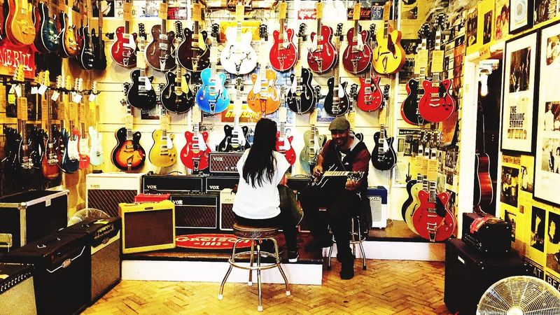 Wunjo one of the famous guitar stores on Denmark St London WC2 Guitar Guitarist Denmark Street London