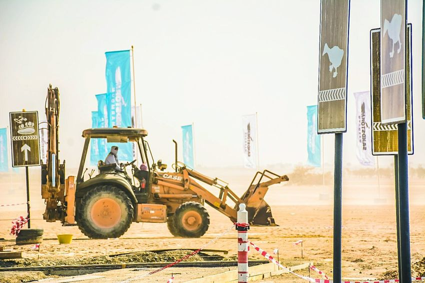 Construction Machinery Machinery Industry Working Manual Worker Outdoors People Day Adult JCB Construction Construction Vehicle