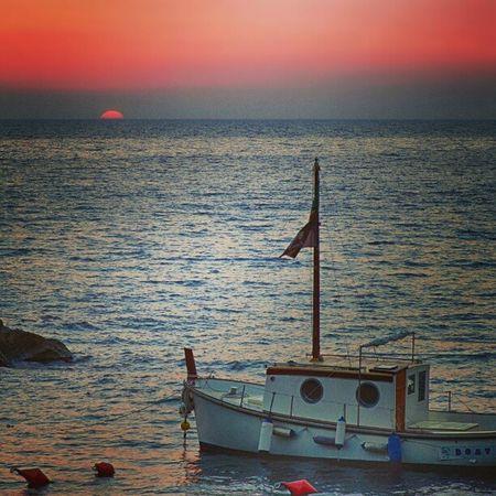 A Riomaggiore sunset, Cinque -_Terre Italy