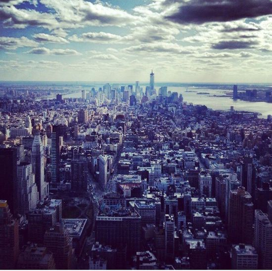 NYC FristTripOfTheYear Empire State Building Awsome View From Above First Eyeem Photo