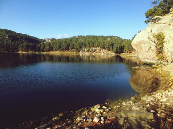 Lake South Dakota Landscape Make Moments