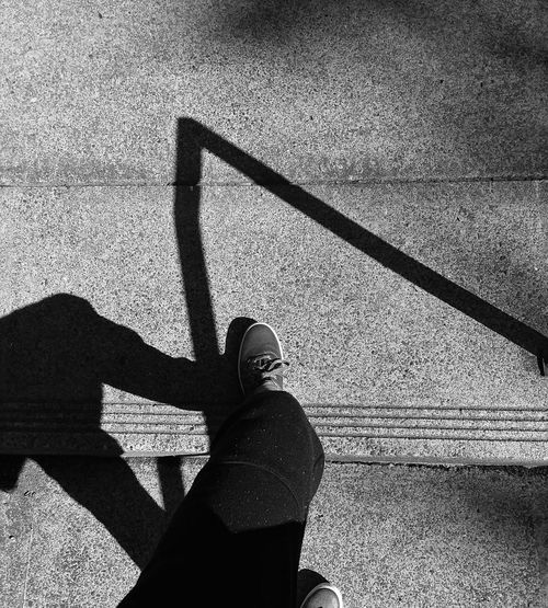 Shadow Sunlight Silhouette Focus On Shadow Long Shadow - Shadow Paved Low Section Human Leg Footwear Personal Perspective Shoe Capture Tomorrow Streetwise Photography The Street Photographer - 2019 EyeEm Awards